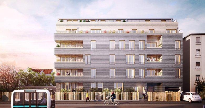 Achat / Vente programme immobilier neuf Champigny-sur-Marne proche parc Tremblay (94500) - Réf. 1251