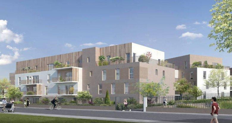 Achat / Vente programme immobilier neuf Champs-sur-Marne aux pieds des transports (77420) - Réf. 5327