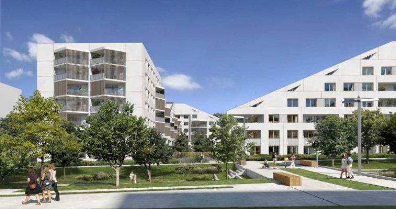 Achat / Vente programme immobilier neuf Châtenay-Malabry écoquartier proche Parc de Sceaux (92290) - Réf. 5915