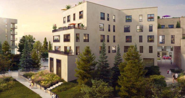 Achat / Vente programme immobilier neuf Châtenay-Malabry face à la coulée verte (92290) - Réf. 3098