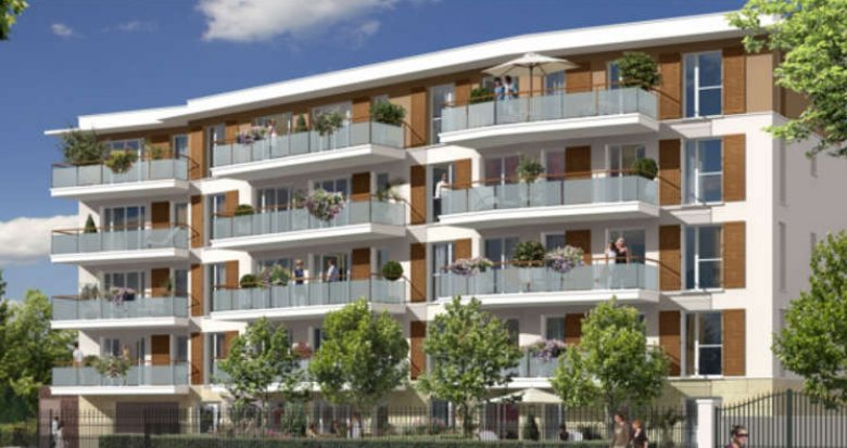 Achat / Vente programme immobilier neuf Chatou proche Grand Lac des Ibis (78400) - Réf. 1250