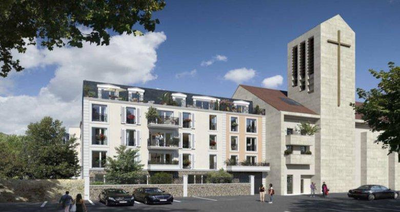 Achat / Vente programme immobilier neuf Chelles à 500m de la gare Chelles-Gournay (77500) - Réf. 4749