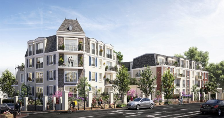 Achat / Vente programme immobilier neuf Chelles à 600m de la gare (77500) - Réf. 5453