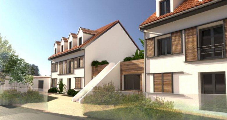 Achat / Vente programme immobilier neuf Chelles proche arrêt de bus Rue du Port (77500) - Réf. 6142