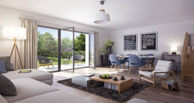Achat / Vente programme immobilier neuf Chilly-Mazarin à 600 m du centre-ville (91380) - Réf. 5251