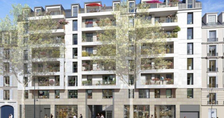 Achat / Vente programme immobilier neuf Clichy à 10 min de La Défense (92110) - Réf. 5681