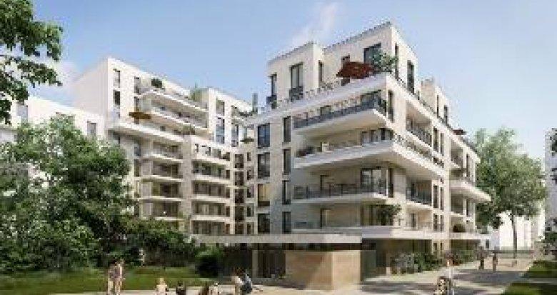 Achat / Vente programme immobilier neuf Clichy proche métro ligne 13 (92110) - Réf. 4344