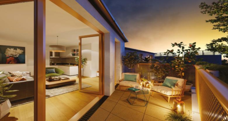 Achat / Vente programme immobilier neuf Clichy-sous-Bois à 100 m du Raincy (93390) - Réf. 5292