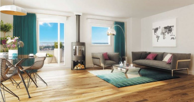 Achat / Vente programme immobilier neuf Colombes proche mairie (92700) - Réf. 3577