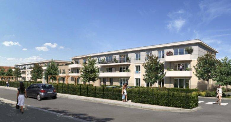 Achat / Vente programme immobilier neuf Combs-la-Ville à deux pas du centre (77380) - Réf. 5672