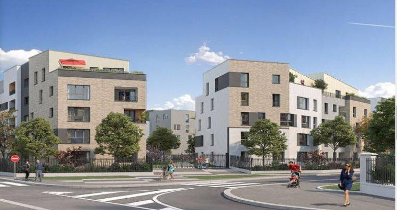 Achat / Vente programme immobilier neuf Combs-la-Ville proche RER D (77380) - Réf. 5767
