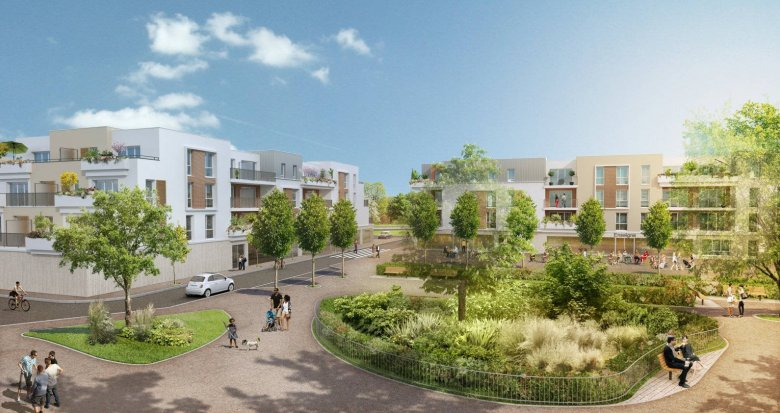 Achat / Vente programme immobilier neuf Coulommiers proche centre-ville (77120) - Réf. 6109