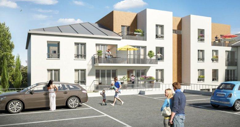 Achat / Vente programme immobilier neuf Crécy-la-Chapelle proche des canaux de la vielle ville (77580) - Réf. 712