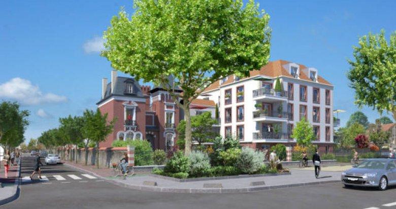 Achat / Vente programme immobilier neuf Créteil quartier Val de Brie (94000) - Réf. 3460