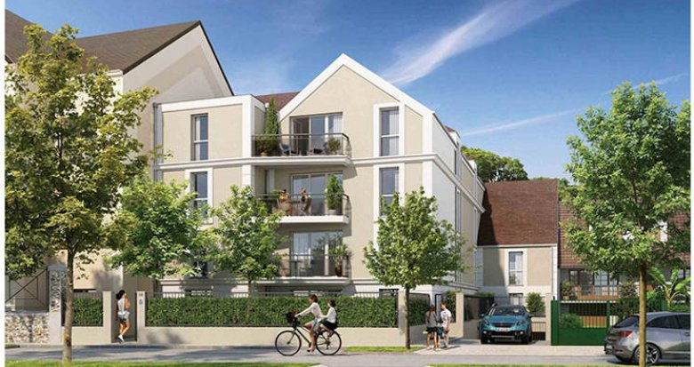 Achat / Vente programme immobilier neuf Dammarie-les-Lys  à 30 min de Paris en transports (77190) - Réf. 5238