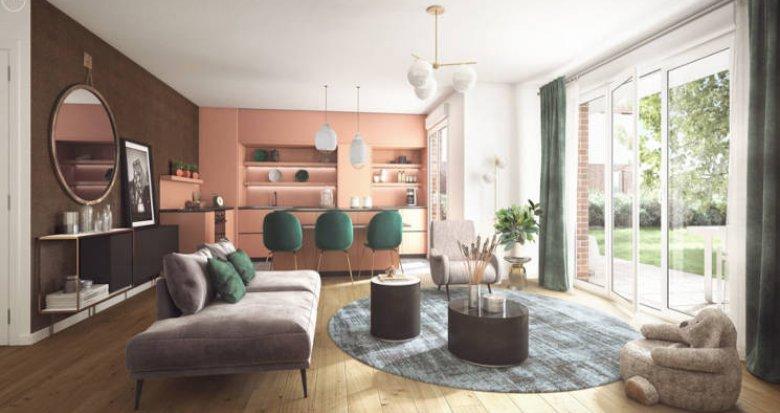 Achat / Vente programme immobilier neuf Dammarie-les-Lys au coeur du parc du Manoir (77190) - Réf. 5692