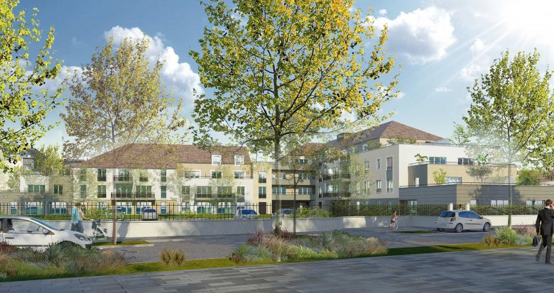 Achat / Vente programme immobilier neuf Dammarie-les-Lys au cœur du quartier du Petit Dammarie (77190) - Réf. 3384