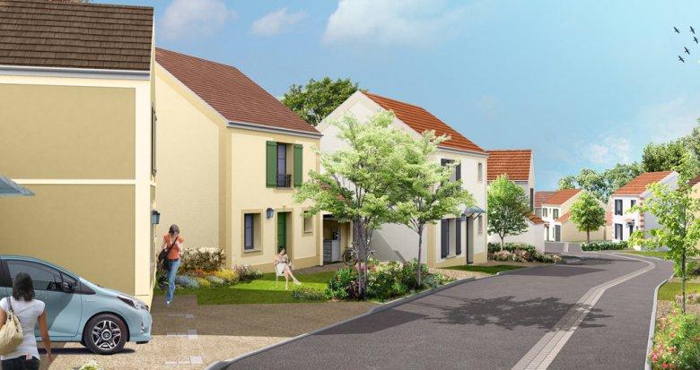 Achat / Vente programme immobilier neuf Dammartin-en-Goële proche aéroport Charles-de-Gaulle (77230) - Réf. 785