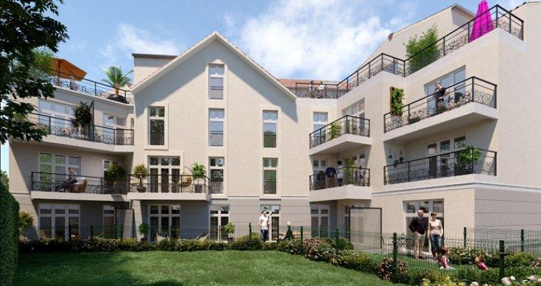 Achat / Vente programme immobilier neuf Dourdan proche des remparts du centre (91410) - Réf. 2396