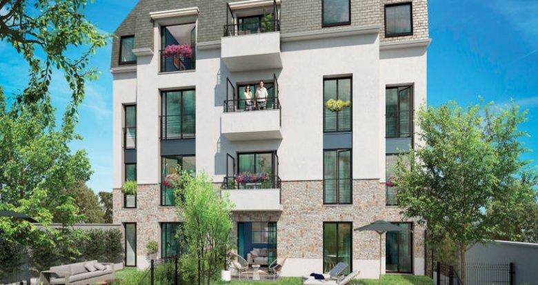 Achat / Vente programme immobilier neuf Draveil aux portes de la forêt de Sénart (91210) - Réf. 5613
