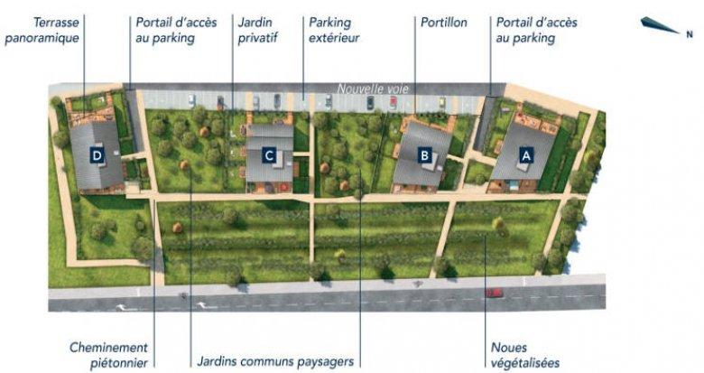 Achat / Vente programme immobilier neuf Ecquevilly au coeur du centre-ville (78920) - Réf. 4530