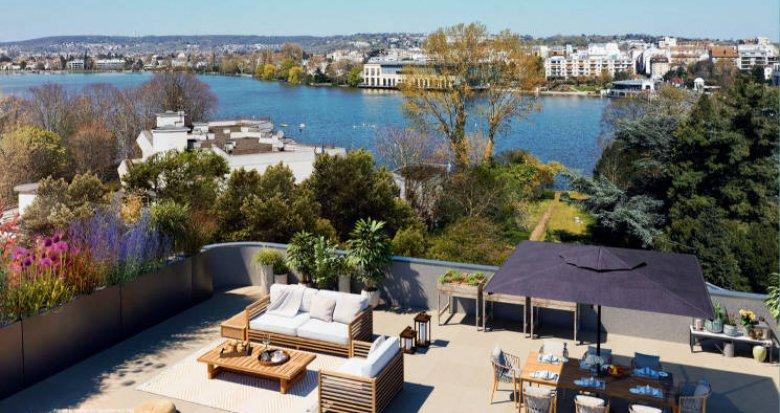 Achat / Vente programme immobilier neuf Enghien-les-Bains proche de lac (95880) - Réf. 4696