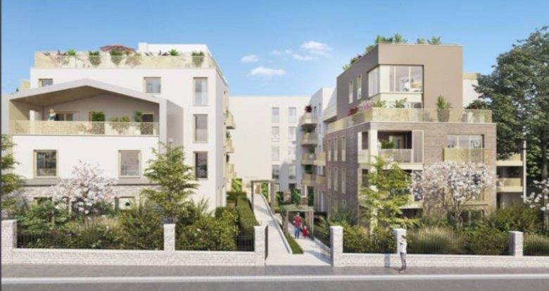 Achat / Vente programme immobilier neuf Enghien-Les-Bains proche du lac (95880) - Réf. 2860