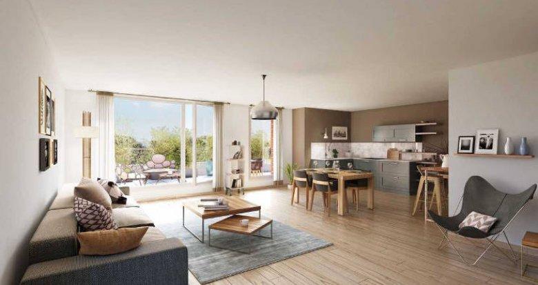 Achat / Vente programme immobilier neuf Epinay-sur-Seine au cœur d'un environnement pavillonnaire (93800) - Réf. 5323