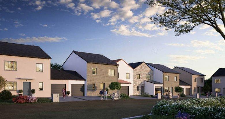 Achat / Vente programme immobilier neuf Éragny à 100 m du Transilien J (95610) - Réf. 5975