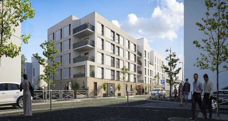 Achat / Vente programme immobilier neuf Évry-Courcouronnes écoquartier proche RER D (91000) - Réf. 5897