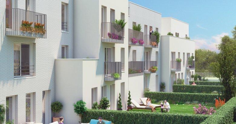 Achat / Vente programme immobilier neuf Fleury-Mérogis quartier des Joncs Marins (91700) - Réf. 1184