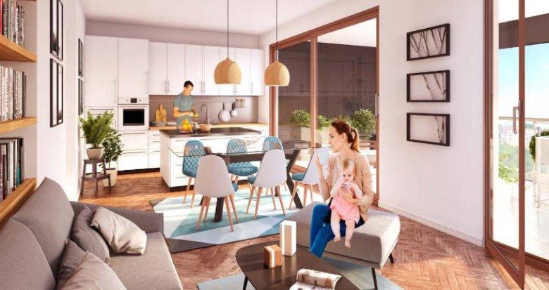 Achat / Vente programme immobilier neuf Fontenay-sous-Bois proche RER (94120) - Réf. 4673
