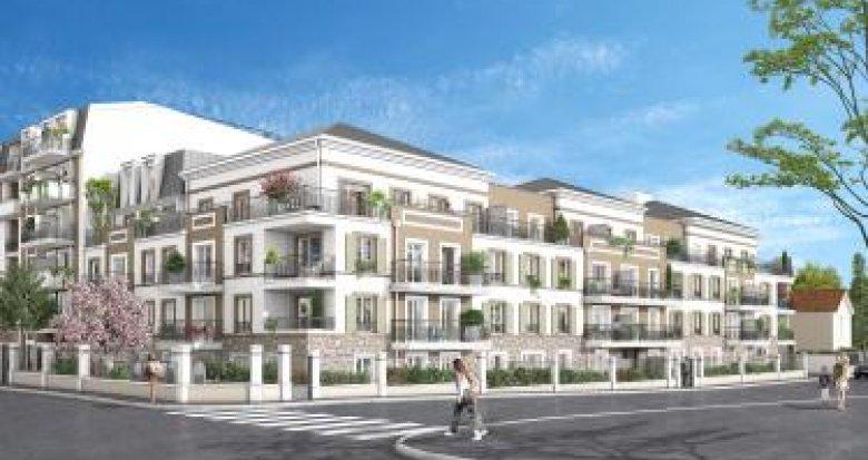 Achat / Vente programme immobilier neuf Franconville à 2 min à pied de la gare RER C (95130) - Réf. 5869