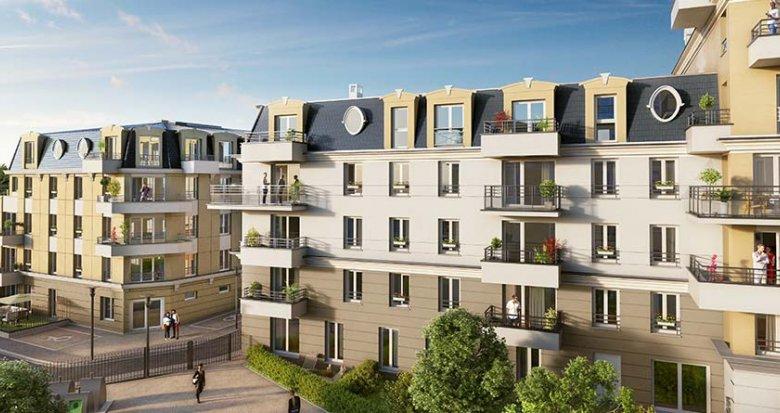 Achat / Vente programme immobilier neuf Franconville proche de Paris (95130) - Réf. 2734