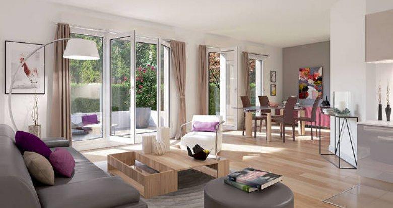 Achat / Vente programme immobilier neuf Gargenville proche centre-ville (78440) - Réf. 3571