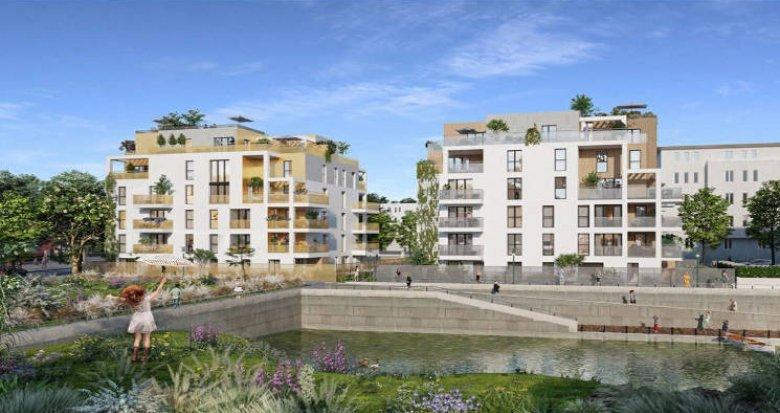 Achat / Vente programme immobilier neuf Guyancourt à 200 mètre du centre-ville (78280) - Réf. 5267