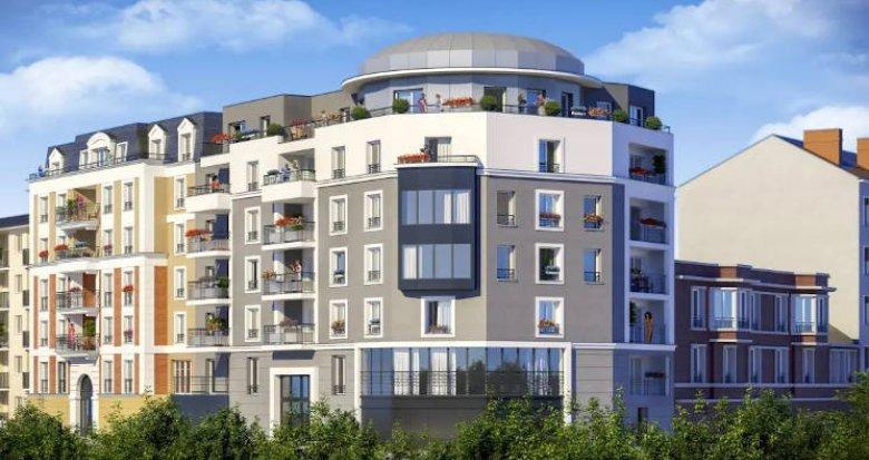 Achat / Vente programme immobilier neuf Juvisy-sur-Orge à 4 minutes du RER (91260) - Réf. 4534