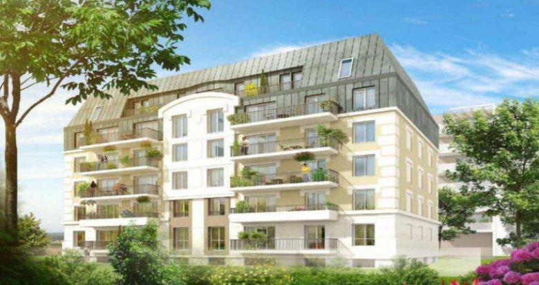 Achat / Vente programme immobilier neuf Juvisy-sur-Orge à 5 min à pied du RER C et D (91260) - Réf. 5754