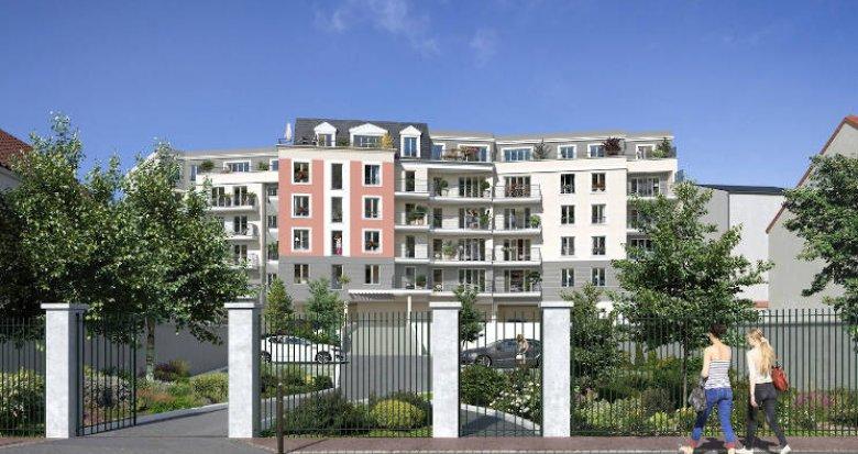 Achat / Vente programme immobilier neuf Juvisy-sur-Orge à 5 min à pied du RER C et D (91260) - Réf. 5346