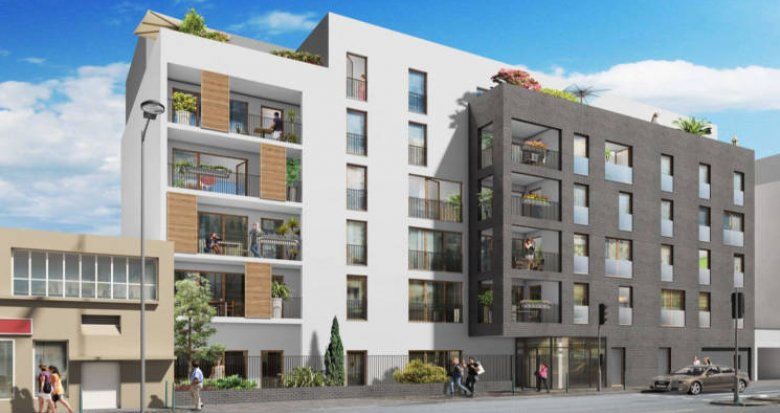 Achat / Vente programme immobilier neuf La Courneuve à 7 min du tramway (93120) - Réf. 6138