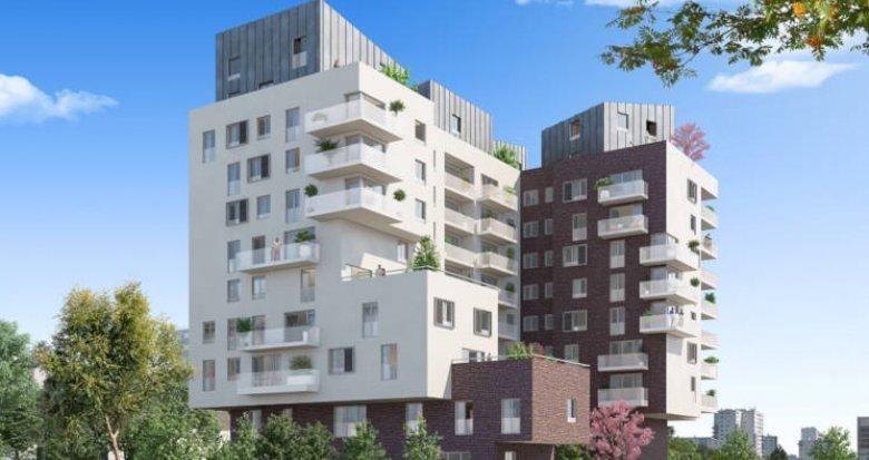 Achat / Vente programme immobilier neuf La Courneuve quartier de la Tour (93120) - Réf. 3932