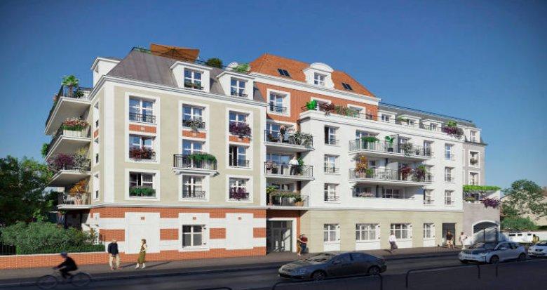 Achat / Vente programme immobilier neuf Le Blanc-Mesnil à distance piétonne de la gare RER B (93150) - Réf. 5951