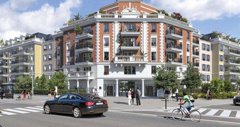 Achat / Vente programme immobilier neuf Le Blanc-Mesnil au cœur du quartier de La Molette (93150) - Réf. 6201