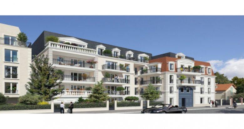 Achat / Vente programme immobilier neuf Le Blanc-Mesnil centre-ville (93150) - Réf. 2704