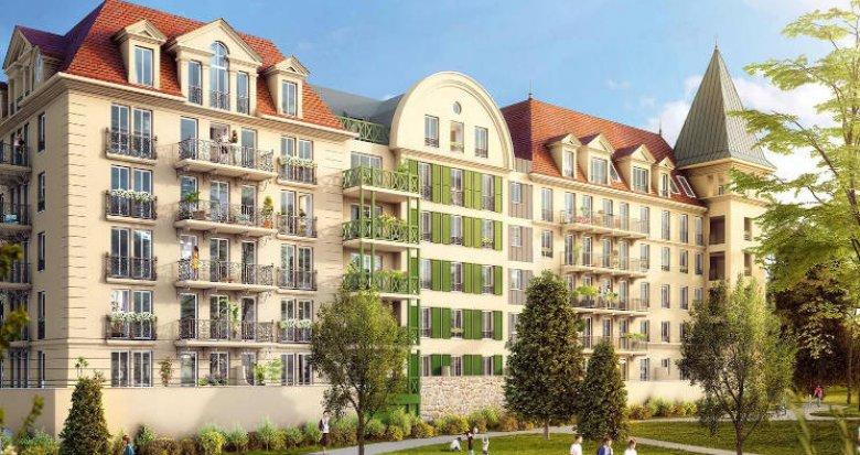 Achat / Vente programme immobilier neuf Le Blanc-Mesnil proche commodités et écoles (93150) - Réf. 4219