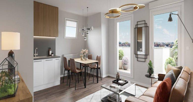 Achat / Vente programme immobilier neuf Le Blanc-Mesnil proche future ligne 17 (93150) - Réf. 5759