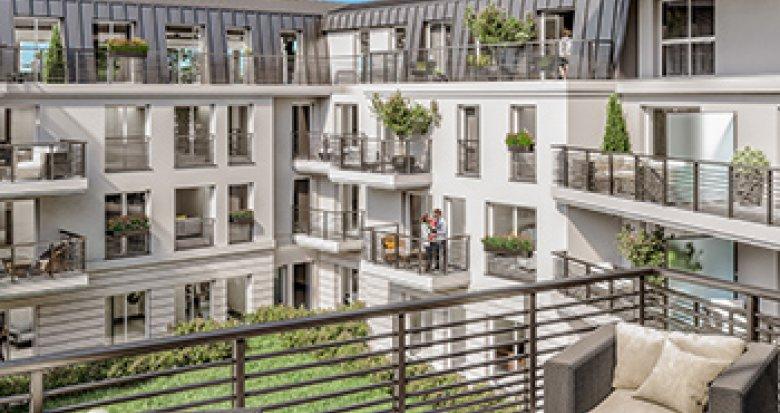 Achat / Vente programme immobilier neuf Le Chesnay proche centre-ville (78150) - Réf. 2077