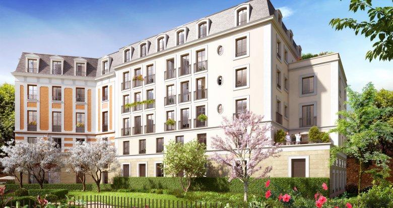 Achat / Vente programme immobilier neuf Le Raincy proche du centre (93340) - Réf. 2205