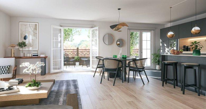 Achat / Vente programme immobilier neuf L'Hay-les-Roses portes de la Roseraie (94240) - Réf. 6288