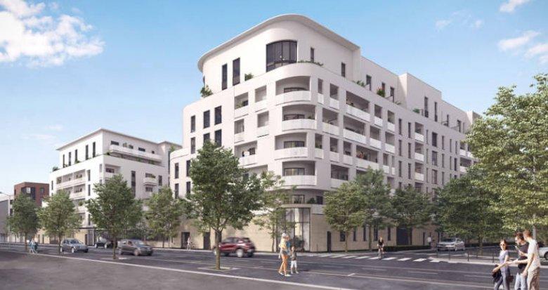 Achat / Vente programme immobilier neuf L'Haÿ-les-Roses proche centre commercial de Villejuif (94240) - Réf. 5600